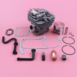 47 millimetri Cilindro Pistone Kit Per Stihl MS361 MS 361 Filtro Olio Combustibile Linea Cuscinetto Guarnizione Set Motosega Pezzi di Ricambio strumento di Parte
