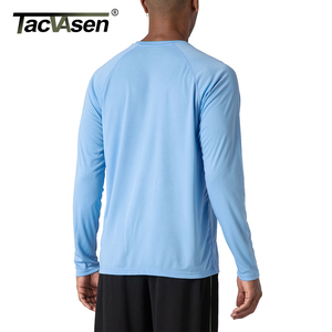 Image 4 - TACVASEN Mens Sun Protection T shirts Summer UPF 50+ Long Sleeve Performance Quick Dry Breathable Hike Fish T shirts UV Proof