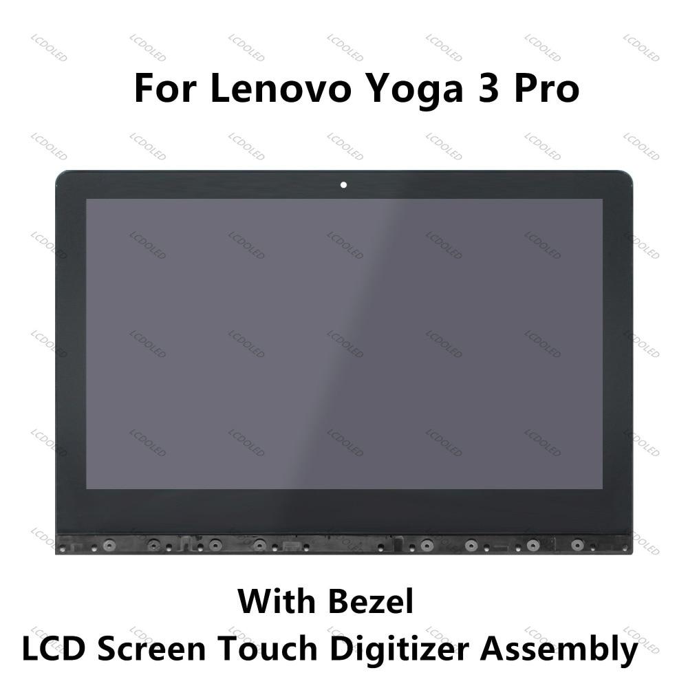 13.3LED LCD Display+Touchscreen Assembly Digitizer+Frame LTN133YL03 For Lenovo Yoga 3 Pr ...