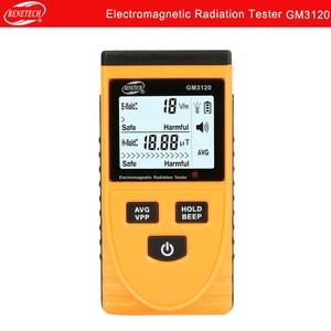 Portable digital electromagnetic radiation detector electromagnetic radiation tester GM3120 BENETECH