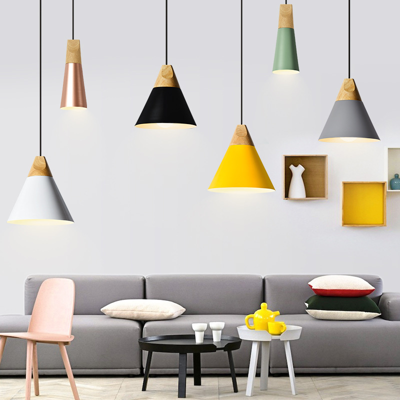 TUDA Free Shipping Multicolor Optional Creative Macarons Pendant Lights Modern Minimalist Restaurant Bar Cafe Pendant Lights