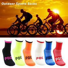 Hot Sale Sweat Absorbent Breathable Cycling Bicycle Socks Outdoor Sports Footbal