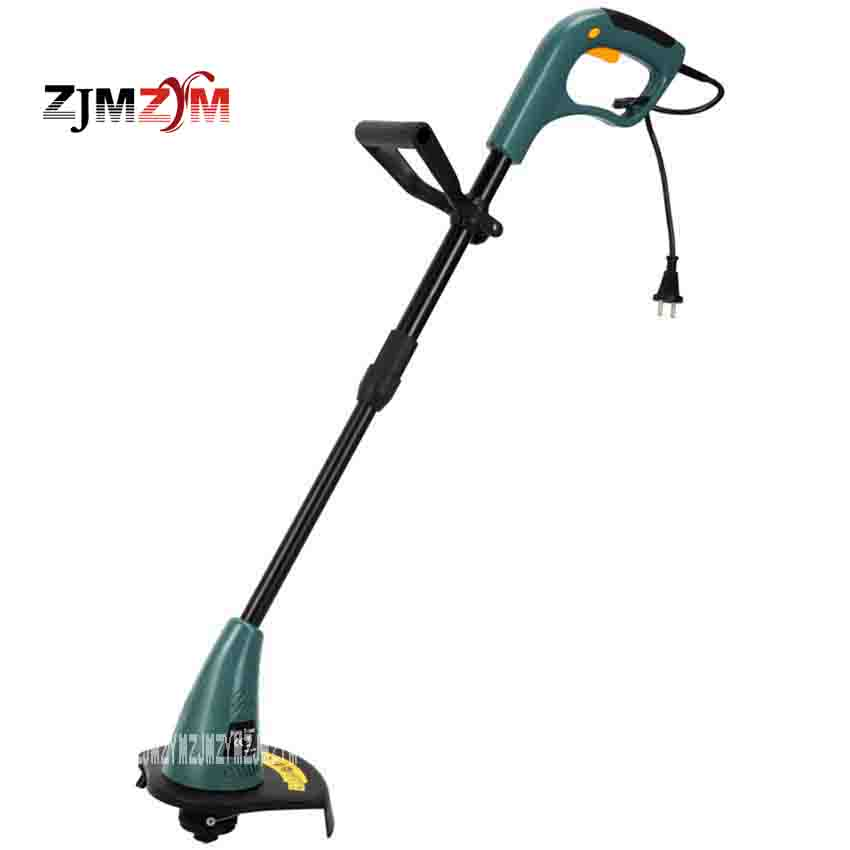 New Arrival Electric Home Lawn Machine ET2605 Lawn Mower Gardening Garden Courtyard Grass Trimmer 350W 10000 r/min 94cm-114cm new arrival electric home lawn mower et2803 8000 r min electric weeding machine 18v rechargeable lawn mower cutting machine hot