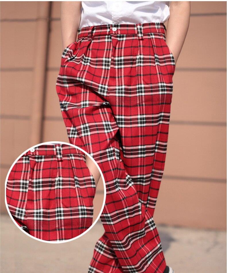 08d2263c9751 2019 2018 New Men S Popping Locking Plaid Pants Fashionable ...