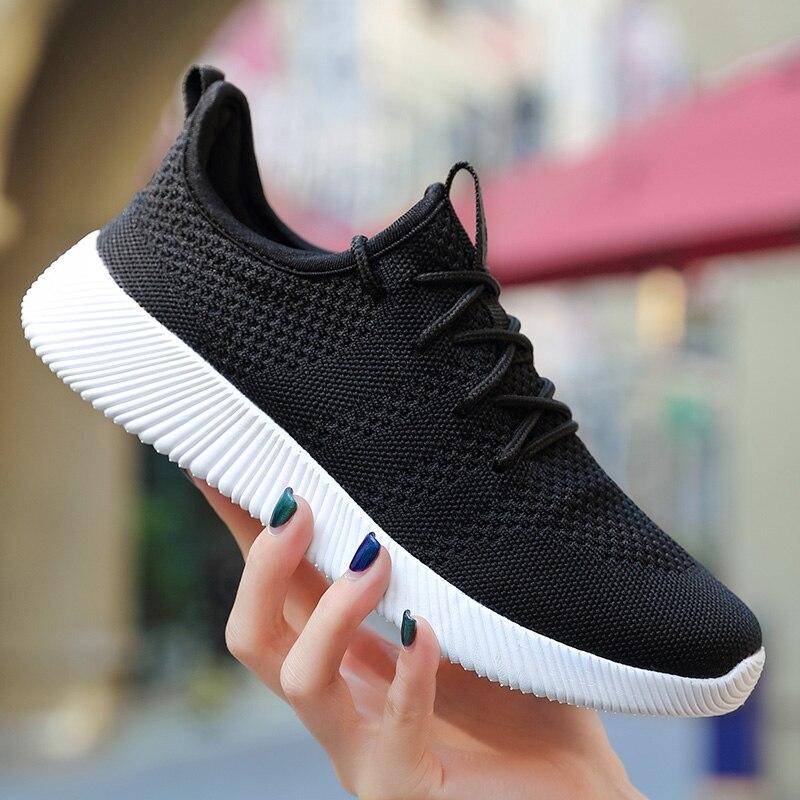 Men Shoes 2018 Woman Summer Sneakers Breathable Running Shoes Comfortable Men Sneakers Shoes Lovers Athletic Training Mesh Shoe