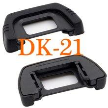 Ocular de borracha para câmera nikon, 2 peças, DK 21 dk 21, para nikon d750 d610, d200, d100, d90, d80, d300, d300s