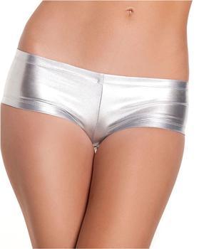 sexy women underwear shorts briefs gold&silver plus size satin