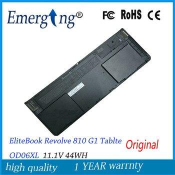 11.1V 44WH New Original Laptop Battery for HP EliteBook Revolve 810 G1 Tablte OD06XL Hstnn-ib4f Hstnn-w91c 698943-001 698750-171