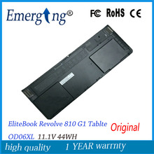 11.1V 44WH New Original Laptop Battery for HP EliteBook Revolve 810 G1 Tablte OD06XL Hstnn-ib4f Hstnn-w91c 698943-001 698750-171