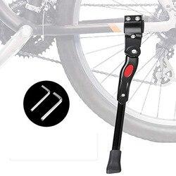 Ajustável mtb estrada da bicicleta kickstand rack de estacionamento mountain bike apoio lateral kick suporte pé cinta peças ciclismo