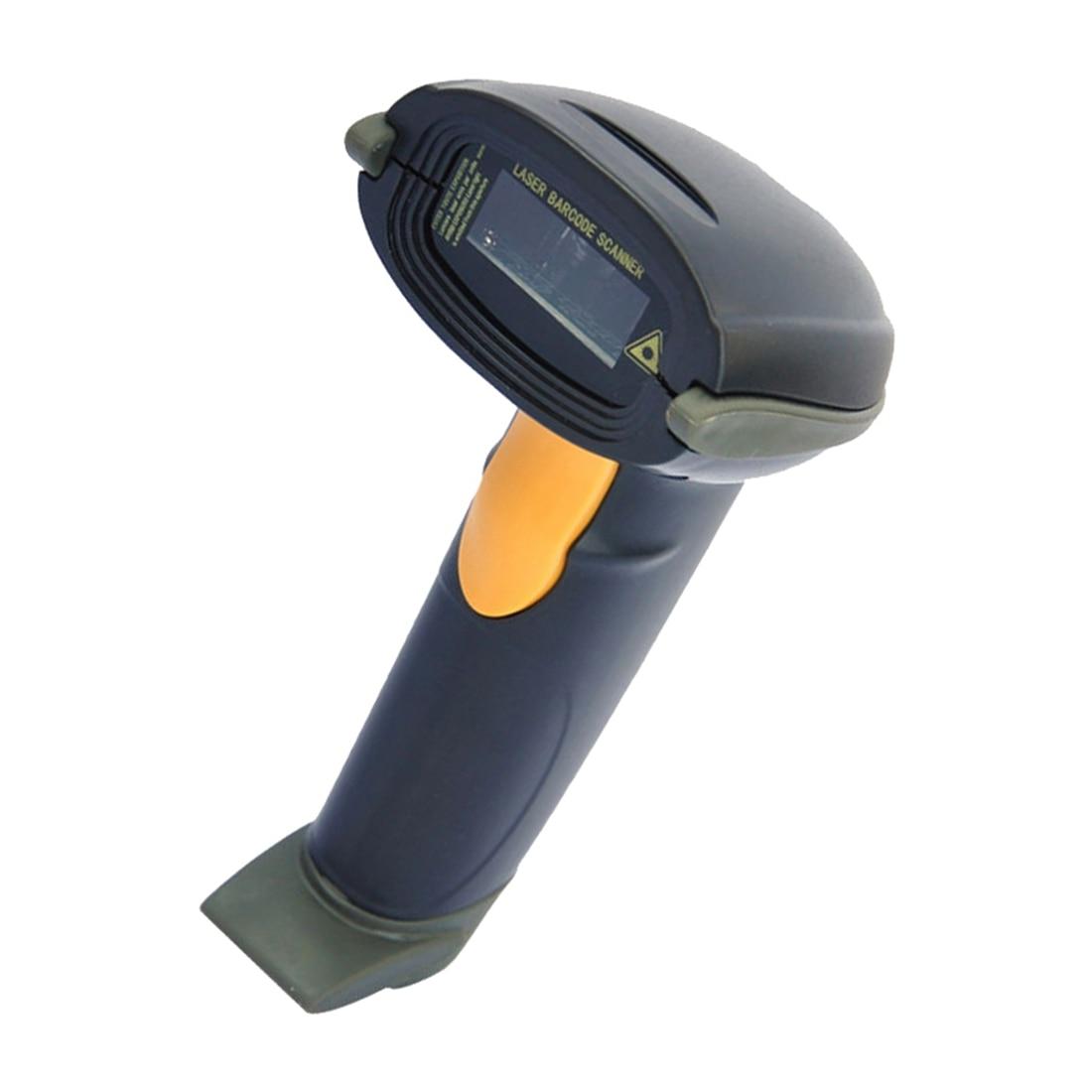 Автоматическая USB Длинные сканирования ручной POS сканер штрихкодов считывания штрих-кода черный