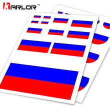 Russian Flag Russia RU Ho Car Auto Motorcycle Logo Decal Set Sticker Scratch Off Cover Ipad Notebook Laptop Handy Car Styling