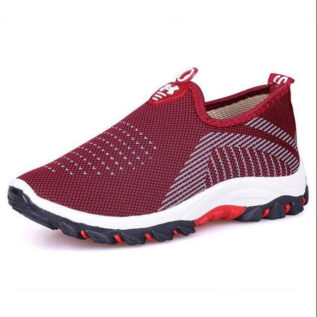 1ceb9ead Женская обувь Для женщин весна-осень новая дышащая Повседневная Дикий  плоские кроссовки на платформе без
