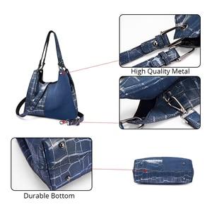 Image 5 - Realer women handbag luxury genuine leather Patchwork pattern cross body shoulder bag female messenger bag high quality for lady