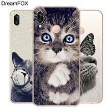купить DREAMFOX M202 Cute Cat Soft TPU Silicone Case Cover For Huawei Honor 6A 6C 6X 7A 7C 7S 7X 8 Lite Pro по цене 111.37 рублей