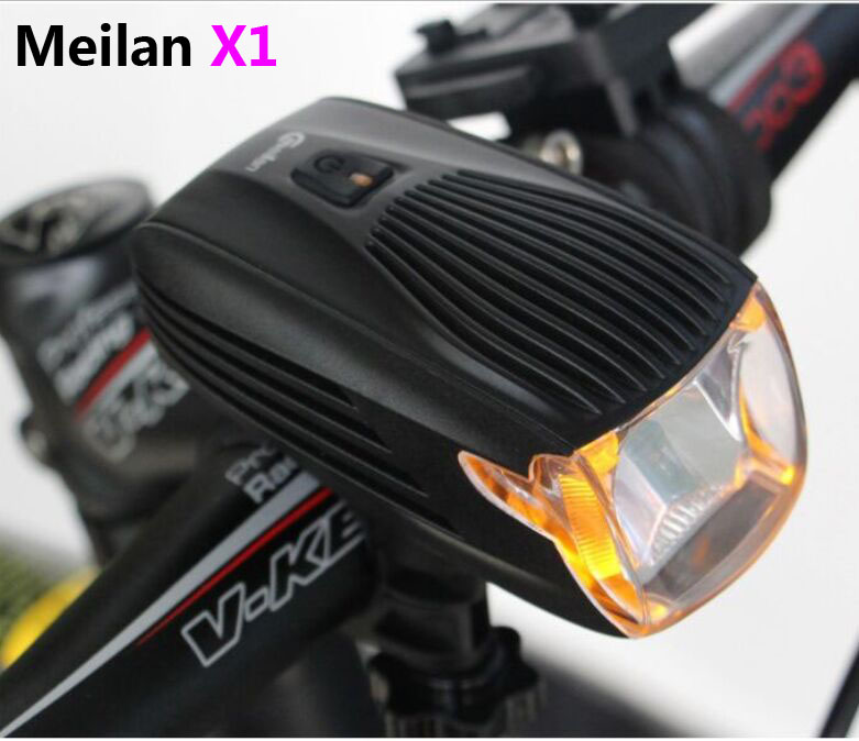 Meilan X1 Germany Stvzo Standard Bike Front Light USB Rechargeable Rain Proof