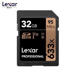 Image 4 - أصلي!!! ليكسر 32GB SDHC بطاقة U1 64GB 128GB 256GB U3 SD بطاقة SDXC بطاقة الذاكرة C10 95 متر/الثانية 633x ل 1080p ثلاثية الأبعاد 4K كاميرا فيديو