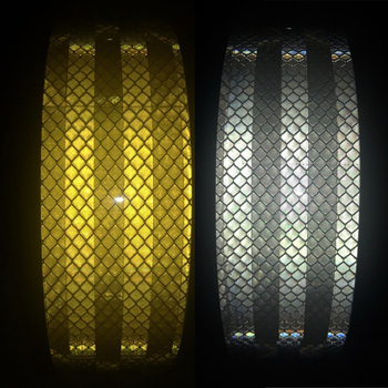 5CMX3M Reflective Strips Car Stickers Car-styling Motorcycle Decoration Automobiles Safety Warning Mark Tape 5cmx3m safety mark reflective tape stickers car styling self adhesive warning tape automobiles motorcycle reflective material