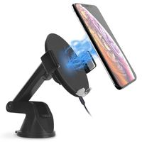 Car Wireless Charger, 10W Fast Charging Car Phone Holder For Iphone XS / S / Samsung S9 / S8 And Other Devices That Can Suppor