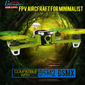 Mais rápida de Corrida FPV 250 Quadcopter BNF/Velocidade RTF FPV drone Compatível DSM2/X RC drone DJI modularidade 2204 motores/ESC/Antena
