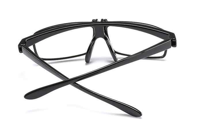 Gafas de lectura WEARKAPER con diseño de PC abatible hacia arriba, Gafas para hombre y mujer plegables anti-blu-ray, Gafas para presbicia con caja 1,0-3,5