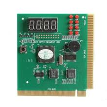 4-разрядный ЖК-дисплей Дисплей ПК Анализатор диагностический материнская плата Post тестер компьютерного анализа PCI карта сетевых инструментов