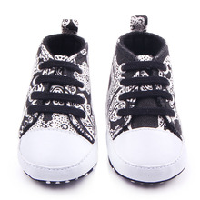 New Arrival Fashional Leopard And Stripe And Print Design 6 Colors Lace Up font b Baby