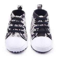 Новое Прибытие Модное Leopard И Полосы И Печати Дизайн 6 Цвета на Шнуровке Детские Кроссовки Холст Обувь Для Унисекс 0-12 Месяцев