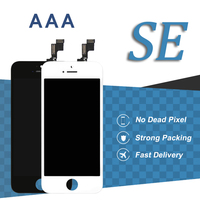 10pcs For IPhone SE LCD Display 4 Inch AAA White Black Screen Assembly Smartphone Screen Replacement