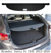 JIOYNG Auto Kofferbak Security Shield Cargo Screen Shield shade Cover Past Voor Hyundai Santa Fe IX45 2013 2014 2015 2016(China)