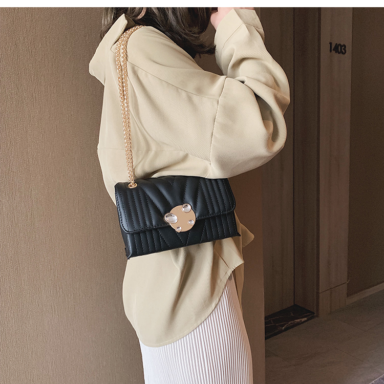 newest fashion bags bag women chain shoulder crossbody bag women's handbags (14)