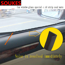 1M 1 Car Window Seam Gap Sealing Protection Strip For Cadillac CTS SRX ATS Lexus RX NX GS CT200H GS300 RX350 RX300 Saab 9-3 9-5