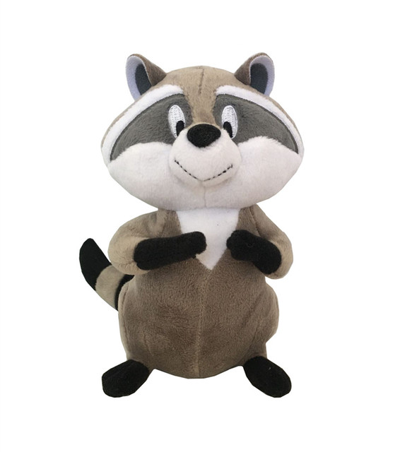 Princess Pocahontas Meeko Raccoon Plush Toy Cute Stuffed Animals