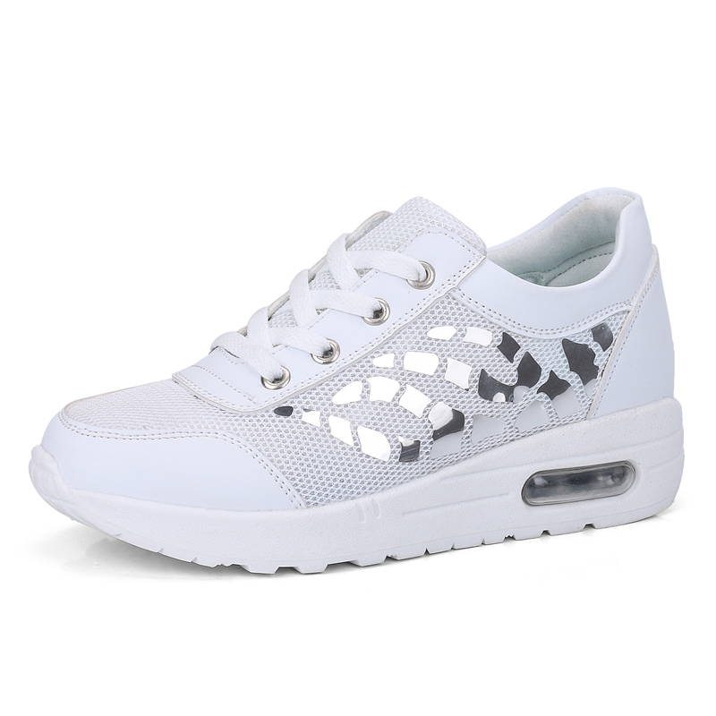 Trainers Women Casual Shoes Summer Style Outdoor Breathable Low Top Shoes Woman Flat Heels Sport Ladies Shoes Size 35-40 ZD71 (1)