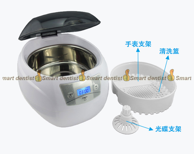 2018 high quality Small Ultrasonic cleaning machine Jewelry Household Denture Watch Washer