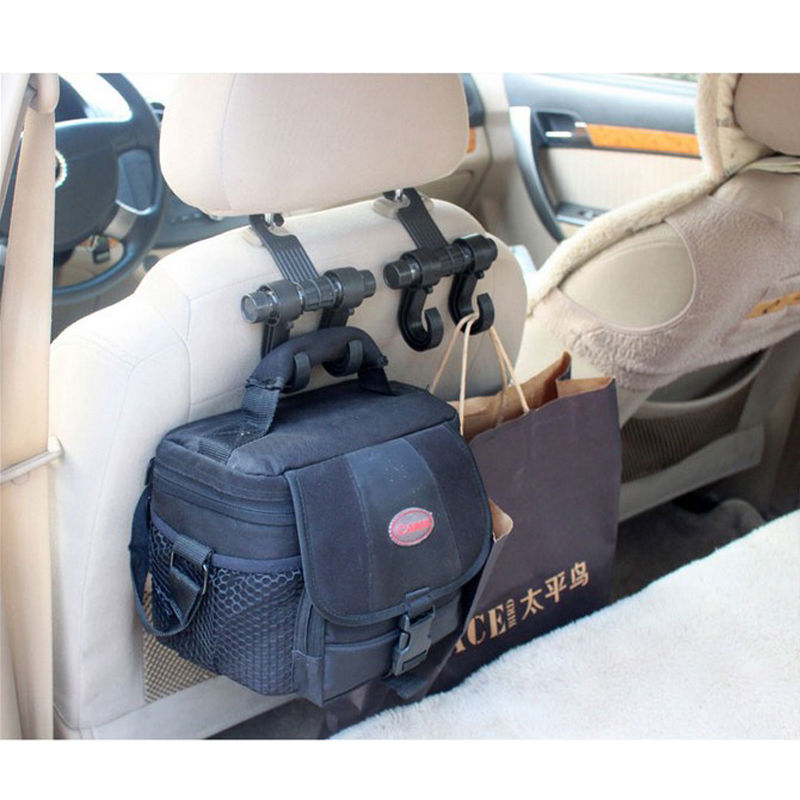 Welcome Car Auto Seat Hanger Purse Bags Organizer Holder Hooks Hanger Tool Handy 1 pcs auto care car seat organizer