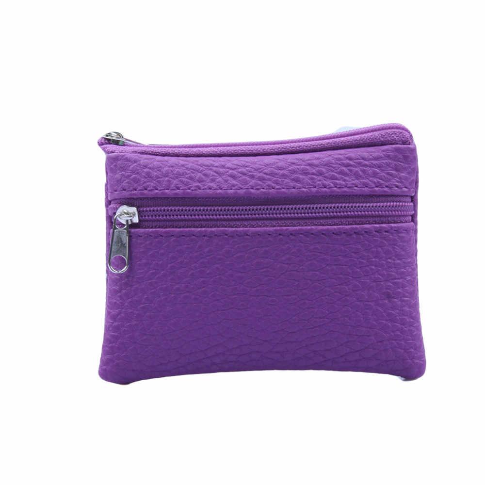 Frauen Männer Leder Brieftasche Multi Funktionale zipper Leder Geldbörse Karte Brieftasche Kleine Brieftasche Leder Geldbörse Weibliche Geld Tasche neue