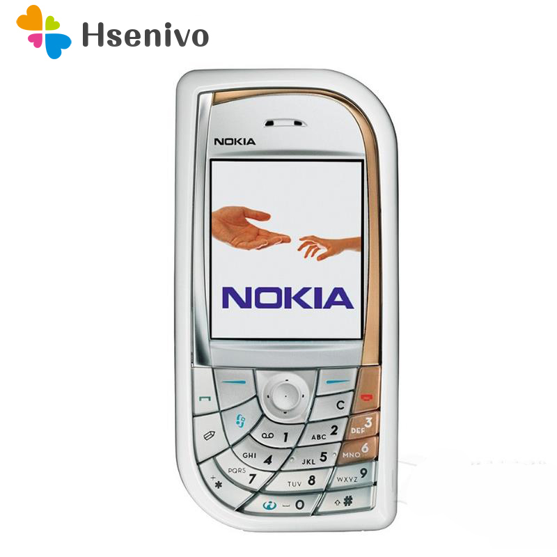 7610 Original 100% Unlocked Refurbished Nokia 7610 Mobile Phone GSM Tri-Band Camera Bluetooth Smartphone Free shipping