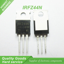 10pcs free shipping IRFZ44N IRFZ44 IRFZ44NPBF MOSFET MOSFT 55V 41A 17.5mOhm 42nC TO-220 new original free shipping20pcs lm338t lm338 to 220