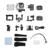 WiFi 4 K ULTRA HD 1080 P 170 Graus À Prova D' Água Esporte DV Câmera De Vídeo de Ação Camcord Apoio Às Micro SDHC