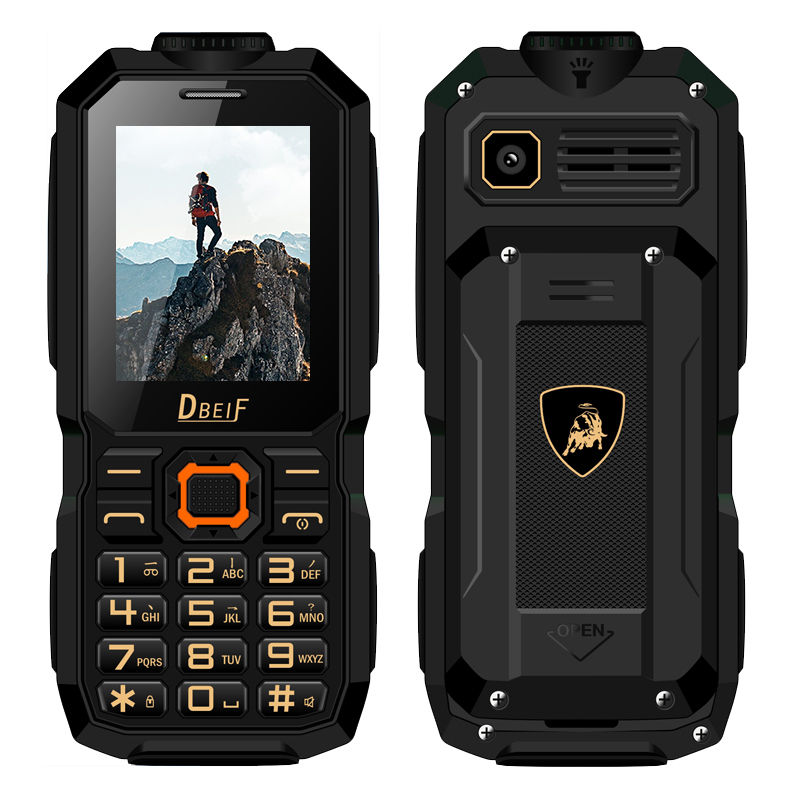 FSMART DBEIF S1 Rugged Shockproof Mobile Phone Magic Voice Change Flashlight Big Battery long Standby Power