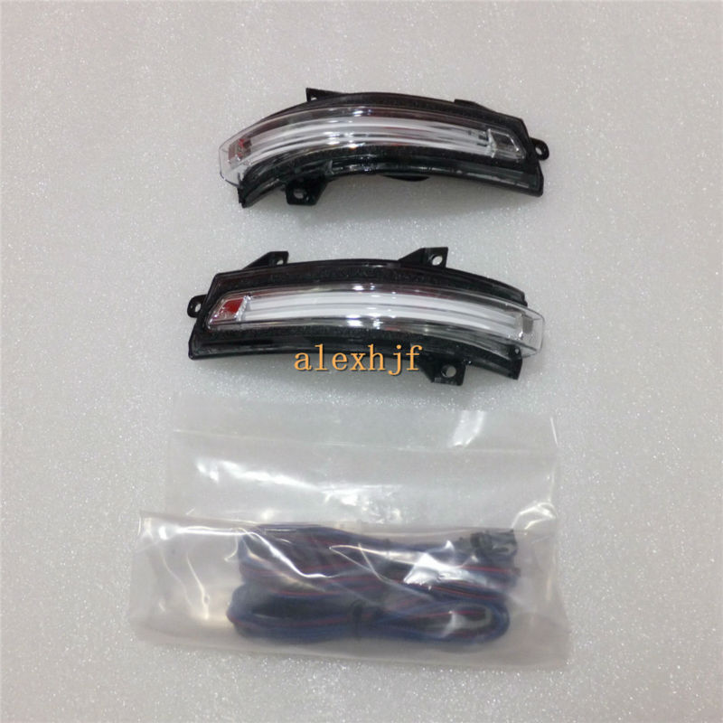 July King LED Rear-view Mirror Lights Case for Honda Civic 9th Jade City Mobilio Crider, LED Position Light, Side Turn Signals