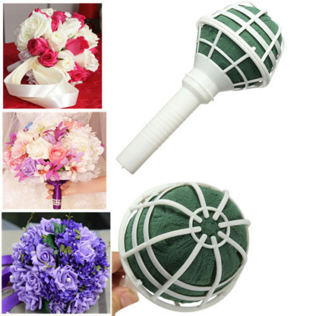 Bridal Bouquet Holder Artificial Flowers Handle Wedding Decoration ...