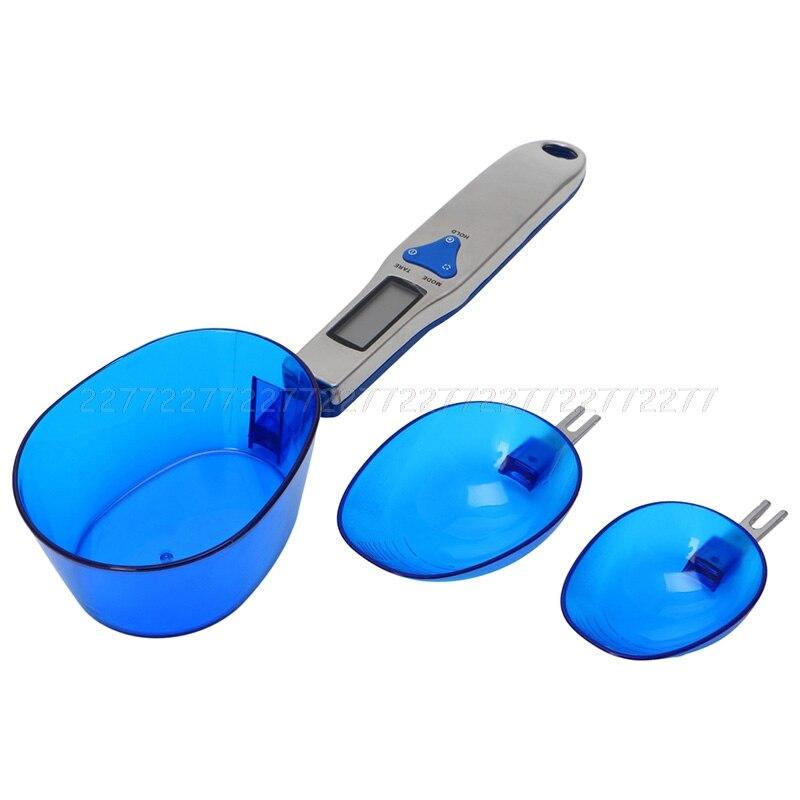 Balanza de cocina utensilios de cocina Dieta Postal Digital Mini escala cuchara electrónicos portátiles pesos S11 dropship