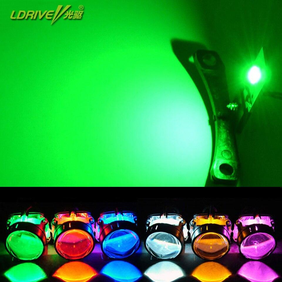 2 teile/los Hohe Helle 360 Grad SMD Dämon LED Halo Ringe Teufel Auge Für Alle Auto Projektor Scheinwerfer, farbe Weiß, Rot, Blau, Gelb