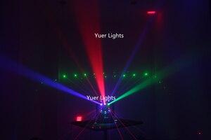 Image 5 - 3IN1 شعاع الليزر ستروب أضواء 16X3W تتحرك رئيس ضوء كرة القدم DMX512 أضواء الليزر DJ/ديسكو/بار/حفلة/عرض/مرحلة الإضاءة