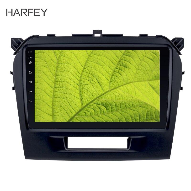Harfey Автомобильный gps авто радио 9 HD сенсорный экран Android 8,1 gps Navi Стерео для SUZUKI VITARA 2015 2016 автомобиль с Wi Fi SWC OBD2