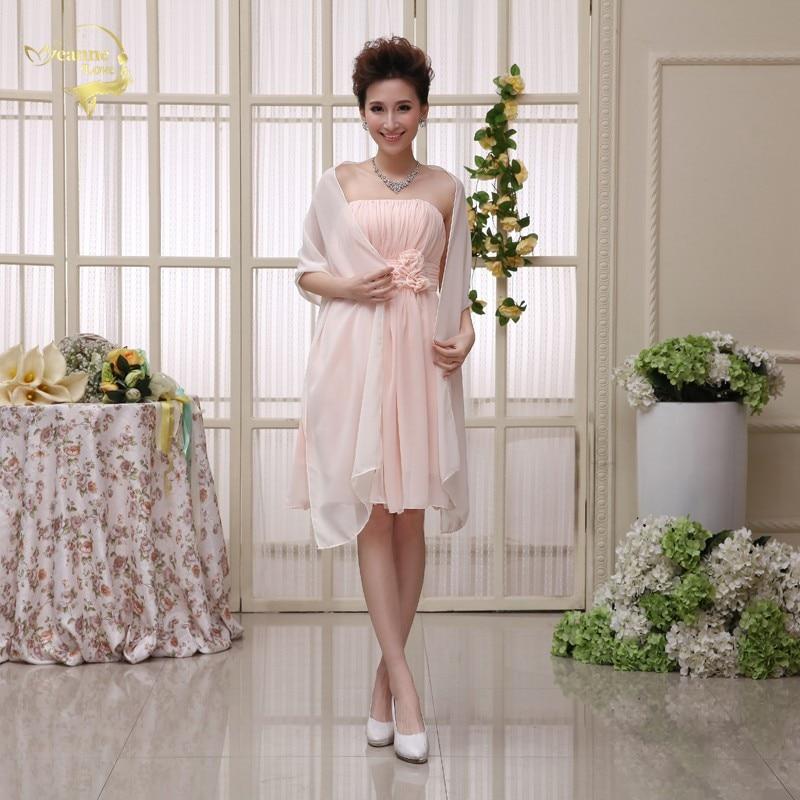 Plus Size 200cm*75cm Cheap Wedding Jacket Wraps Bolero Chiffon Women Cap Wrap Shrug For Wedding Evening Prom Event 2018 In Stock