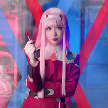 Hot Zero Two Darling in the Franxx 02 Combat Dress Suit Red
