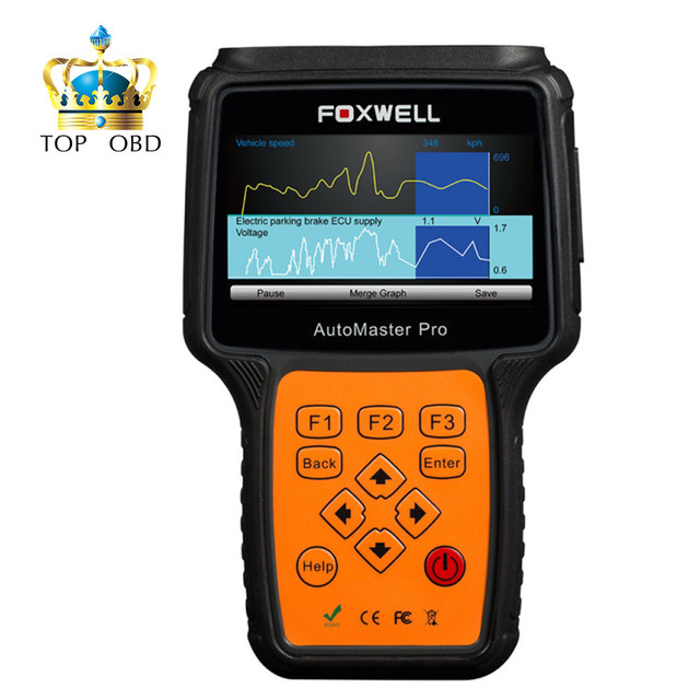 2017 New Arrival Foxwell NT644 AutoMaster Pro All Makes Full Systems+ EPB+ Oil Service Scanner Free Shipping